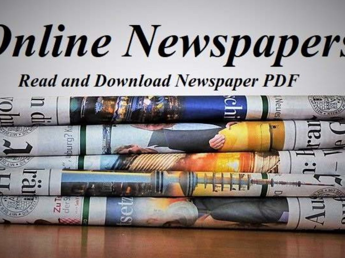 Online Newspapers: Read and Download Newspaper PDF